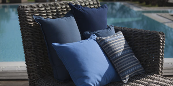 blue agora pillows